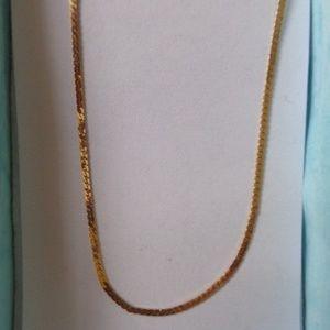 "Jewelry - 14K gold chain, 18"" EUC"